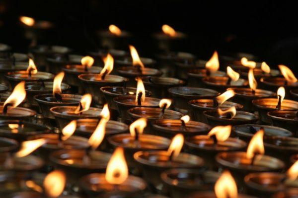 Peaceful Yoga Candles